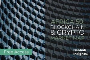 Blockchain and Cryptocurrency 50: Africa Market Map