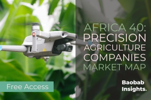 40 Precision Agriculture Companies - Africa Market Map