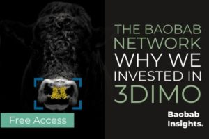 Why we invested in 3DIMO