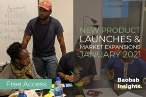 Product and Market Expansions in Africa January 2021