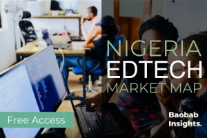 Nigeria EdTech Market Map Splash